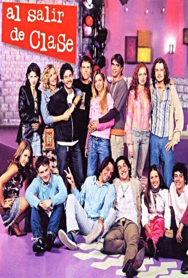 al_salir_de_clase_poster